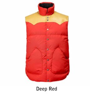 jackson original vest deep red