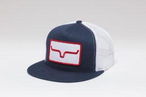 banner ventilated navy white