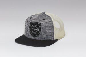 caps relative trucker grey heather