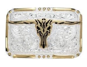Longhorn Buckle guld